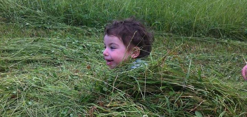 Il piacere di riposare nel verde!